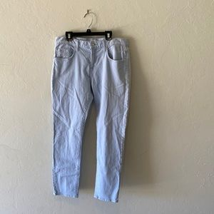 7 for all mankind light wash jeans waist 28